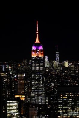 Empire State Building desde el Top of The Rock