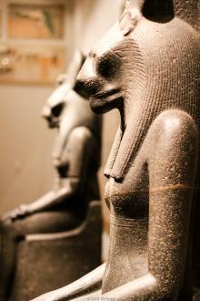 Poderosa diosa egipcia Sekhmet en el MET