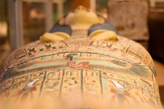 Sarcófago egipcio en el MET