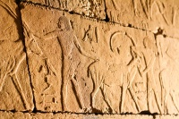 Bajorelieve egipcio en el MET
