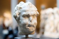 Estatua curiosa en el Museo Metropolitano de NY