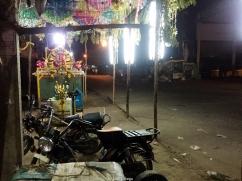 Puestos nocturnos en Uthiramerur