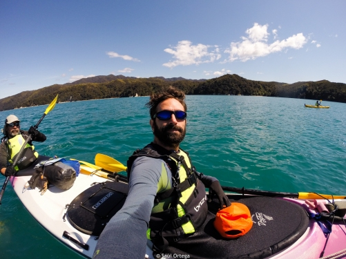 Kayak en el Abel Tasman coastal track - New Zealand
