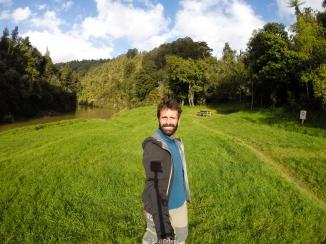 Whanganui River camp - New Zealand