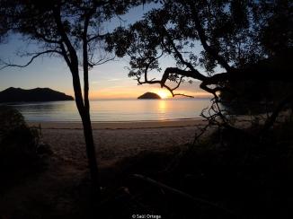 Abel Tasman sunset - New Zealand