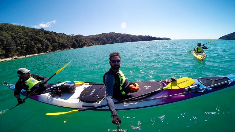 Kayaking in Abel Tasman National Park - New Zealand