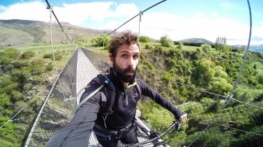 En bici por Queenstown - New Zealand
