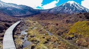 Tongariro Alpine Crossing trek - New Zealand