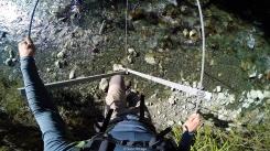 Puentes de tres cables en el Hollyford Track - New Zealand