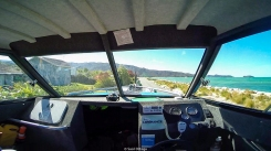A boat on a road - Abel Tasman - New Zealand