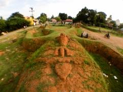 Escultura gigante - Kanchipuram - India