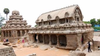Pancha Rathas en Mahabalipuram - India