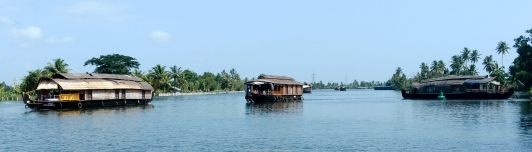 House boats en Alapuza - Kerala - India