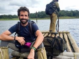 Mi barba en el Parque Periyar - Kerala - India
