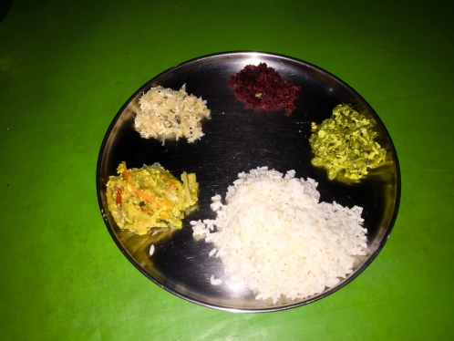 Comida en el Parque Periyar - Kerala - India