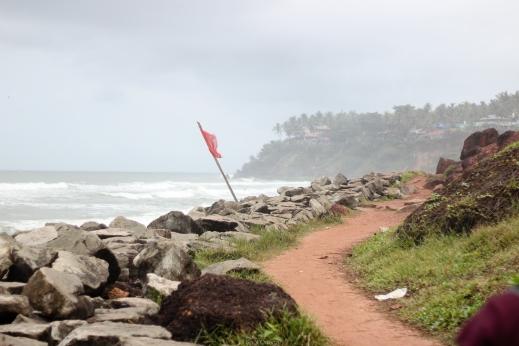 Varkala en Kerala - India