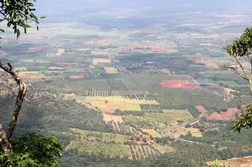 Vistas de un valle de Tamil Nadu - Kerala - India