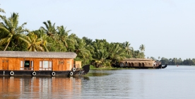 House boats en Alappuzha - Kerala - India