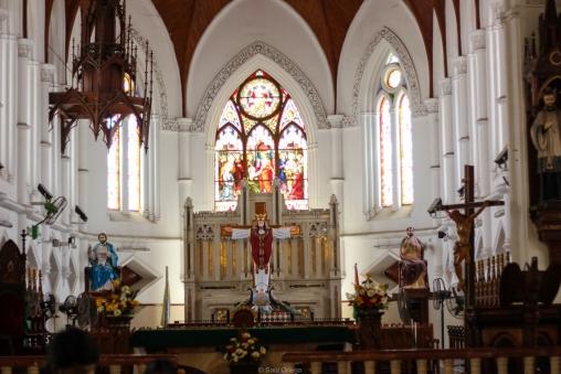 Basílica de Santo Tomás en Chennai - India