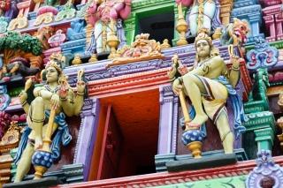 Templo de Kapaleeshawarar en Chennai - India