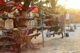 Tofo es una localidad preciosa en la playa