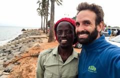 Con Matanhane en Maputo
