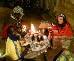 En casa de Laura y Matanhane en Maputo