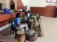 Clase de danza africana - Maputo